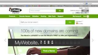 How to Buy a Domain Name and Setup with GoDaddy