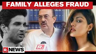 Sushant Singh Rajput's Family Lawyer Levels Sensational Charges On Rhea Chakraborty