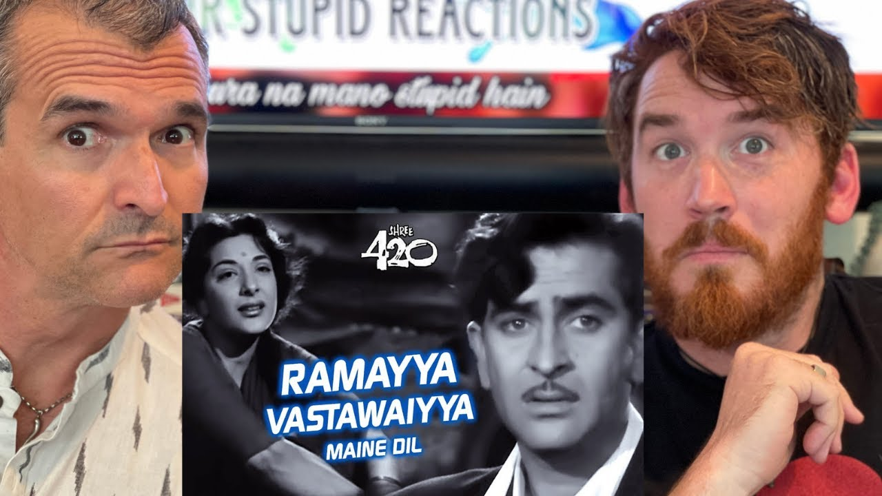 Download Ramayya Vastawaiyya - Shree 420 (1955)   Raj Kapoor, Nargis   Lata Mangeshkar,  Rafi REACTION!!!