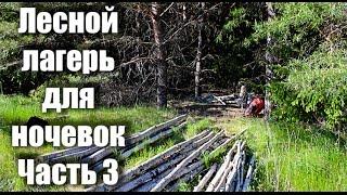 Постройка летне-зимнего лесного лагеря (Серия 3 из 5) Survival Shelter