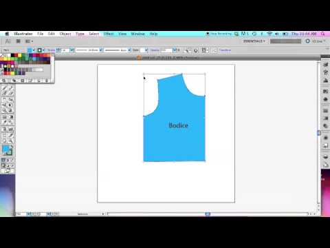 How to Use Adobe Illustrator to Create Sewing Patterns - Basic Tools