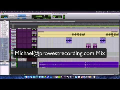 A/B Comparison of Client's Rough & Michael's Finished Mix