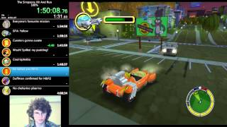 The Simpsons: Hit & Run - 100% Speed Run - 4:04:04 With Live Commentary