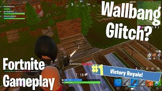 Wallbang Glitch? (Fortnite BRs) w/Gorillaphent & Dead Squirrel