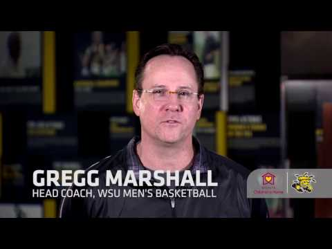 Wichita State Men's Basketball Coach Gregg Marshall explains why he's asking you to VOTE DAILY
