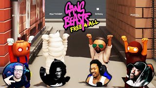 FREE-FOR-ALL BEAT DOWNS  | GANGBEASTS (w/ The Boiz!)