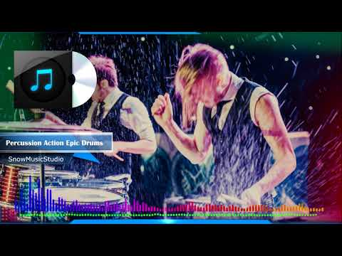 Stomps and claps background music - Percussion Action Epic Drums \ royalty free music