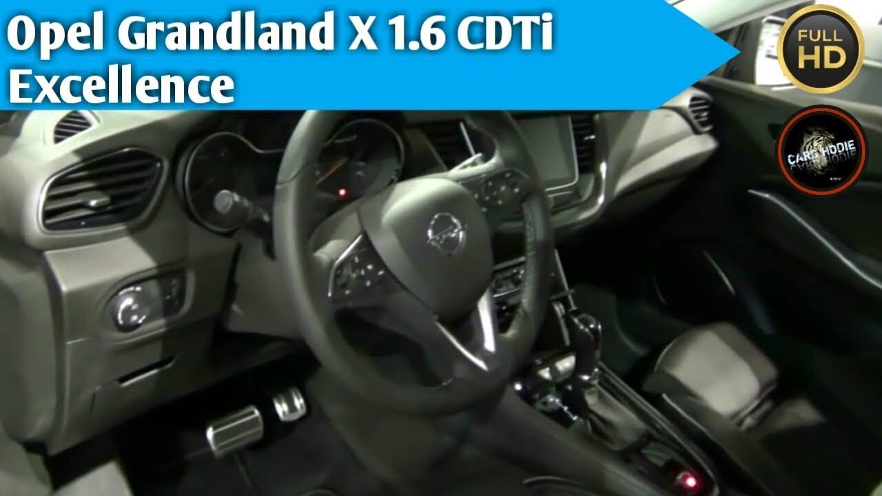 2018 opel grandland x 1 6 cdti excellence exterior and for Interior opel grandland x