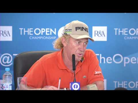 Miguel Angel Jimenez Press Questions - 2013 Open, 2nd Round