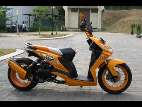 Motor Trend Modifikasi | Video Modifikasi Motor Honda Beat Hot Road Chooper Terbaru