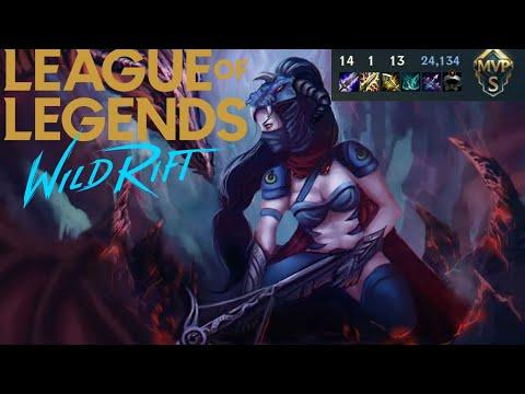 Dragon Slayer Vayne | League Of Legends Wild Rift : 24,000 Gold Rank Gameplay [4K]