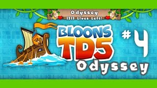 Bloons TD 5 Odyssey Mode Hard - Ep.4