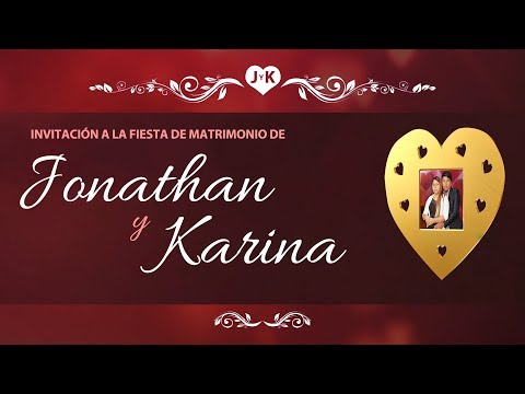 Jonathan y Karina 2017 Matrimonio en Chile ♫ 10 y 11 Noviembre ™Studios DHAPStv●02.07.2017