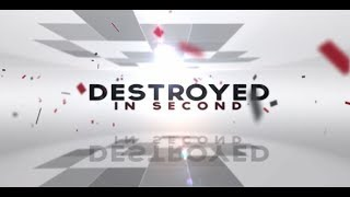 Destruction Compilation Destroyed In Seconds Video Compilation 2018