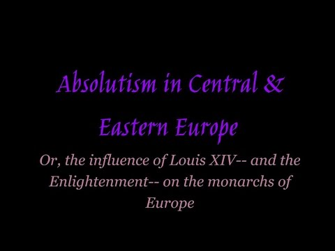 Absolutism in Central & Eastern Europe HD