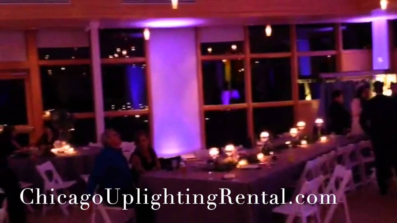 Chicago Wedding Uplighting