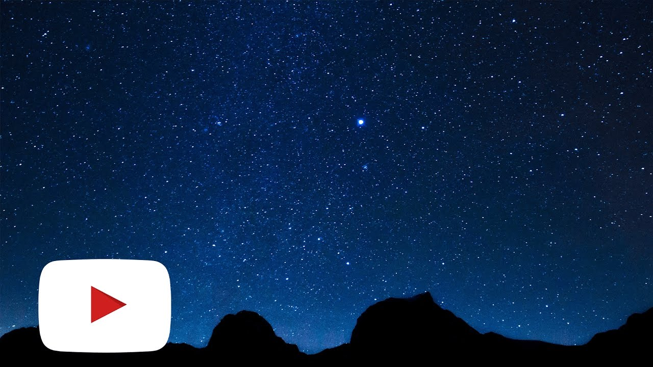Starry sky time lapses copyright free footage 4k youtube - Starry sky 4k ...
