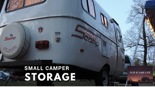 Small Camper Organizing, Hacks and MORE Our Scamp Life Ep002