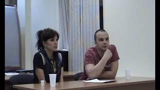 Уроки Шестова.  Светлана Светикова и Андрей Чадов. Часть 1
