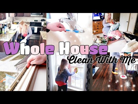 NEW EXTREME WHOLE HOUSE CLEAN WITH ME 2020 :: ALL DAY CLEANING MOTIVATION + HOMEMAKING from YouTube · Duration:  27 minutes 17 seconds