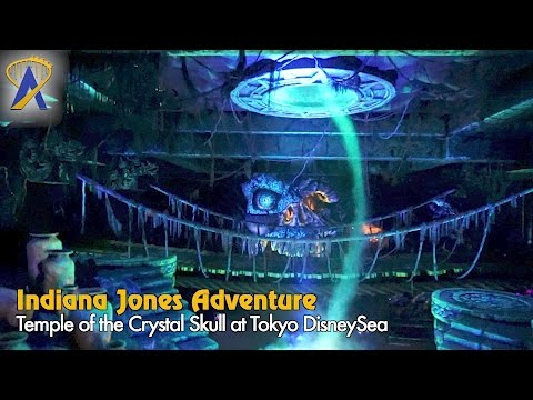 Indiana Jones Adventure: Temple of the Crystal Skull Low-Light POV Tokyo DisneySea