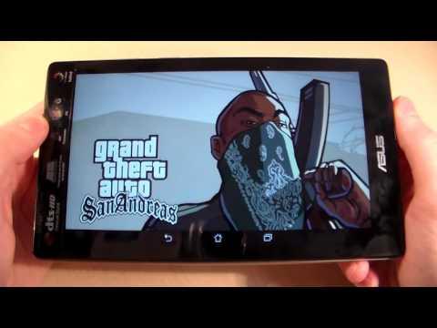 Games On Asus ZenPad C 7.0 (GTA:SanAndreas, MortalCombatX, Deadtrigger2)