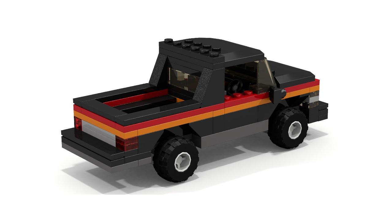 how to make a mini lego truck