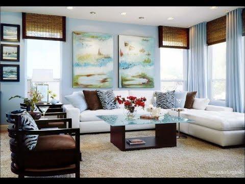 Desain Warna Cat Ruang Tamu Terang Dan Nyaman