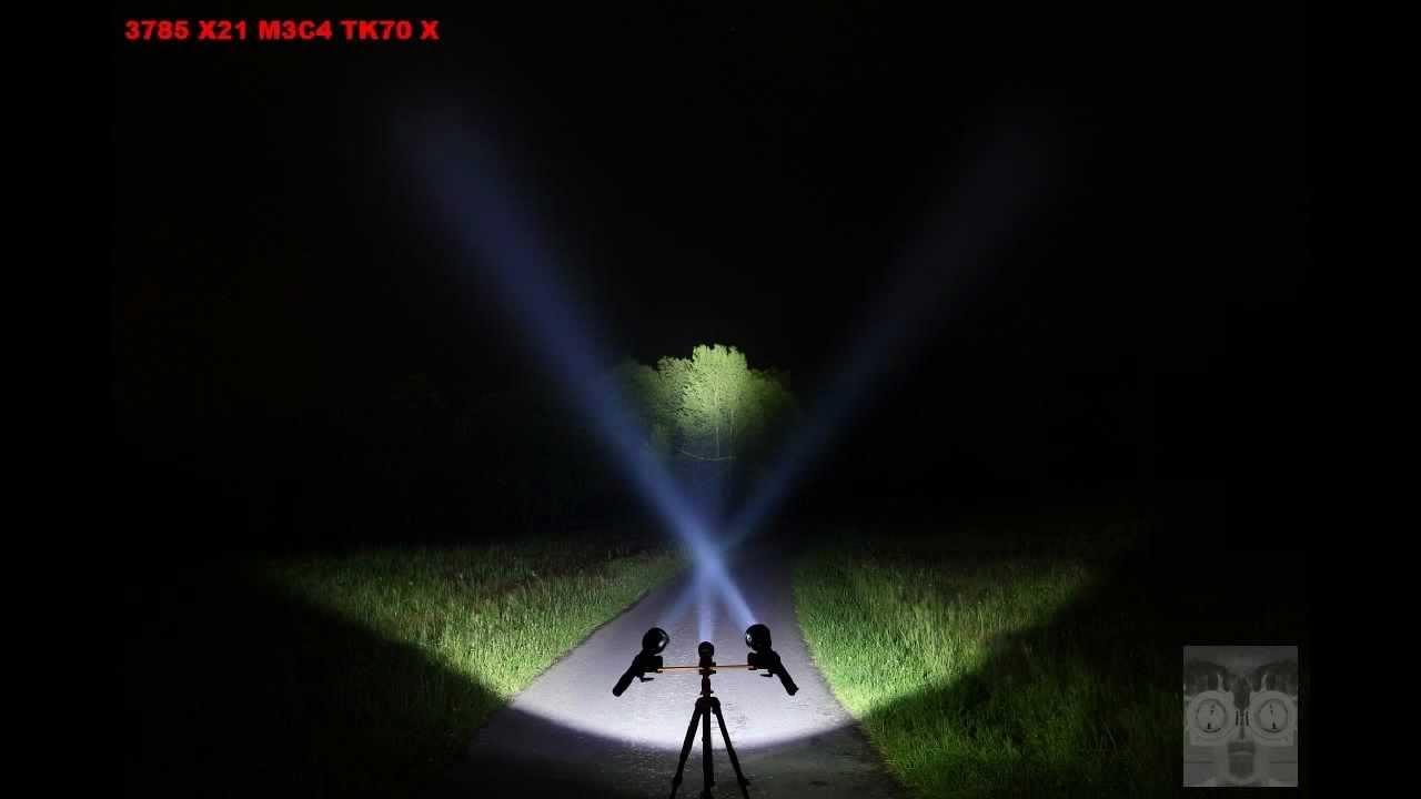 2 Duracell Batterien Neu OVP Fenix FD30 Cree XP-L HI LED Taschenlampe