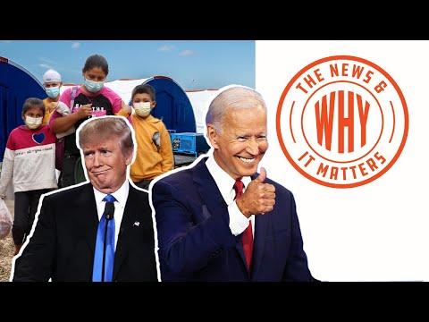 HYPOCRISY: Biden's 'Migrant Facility' SAME as Trump's 'Cages' | The Ne
