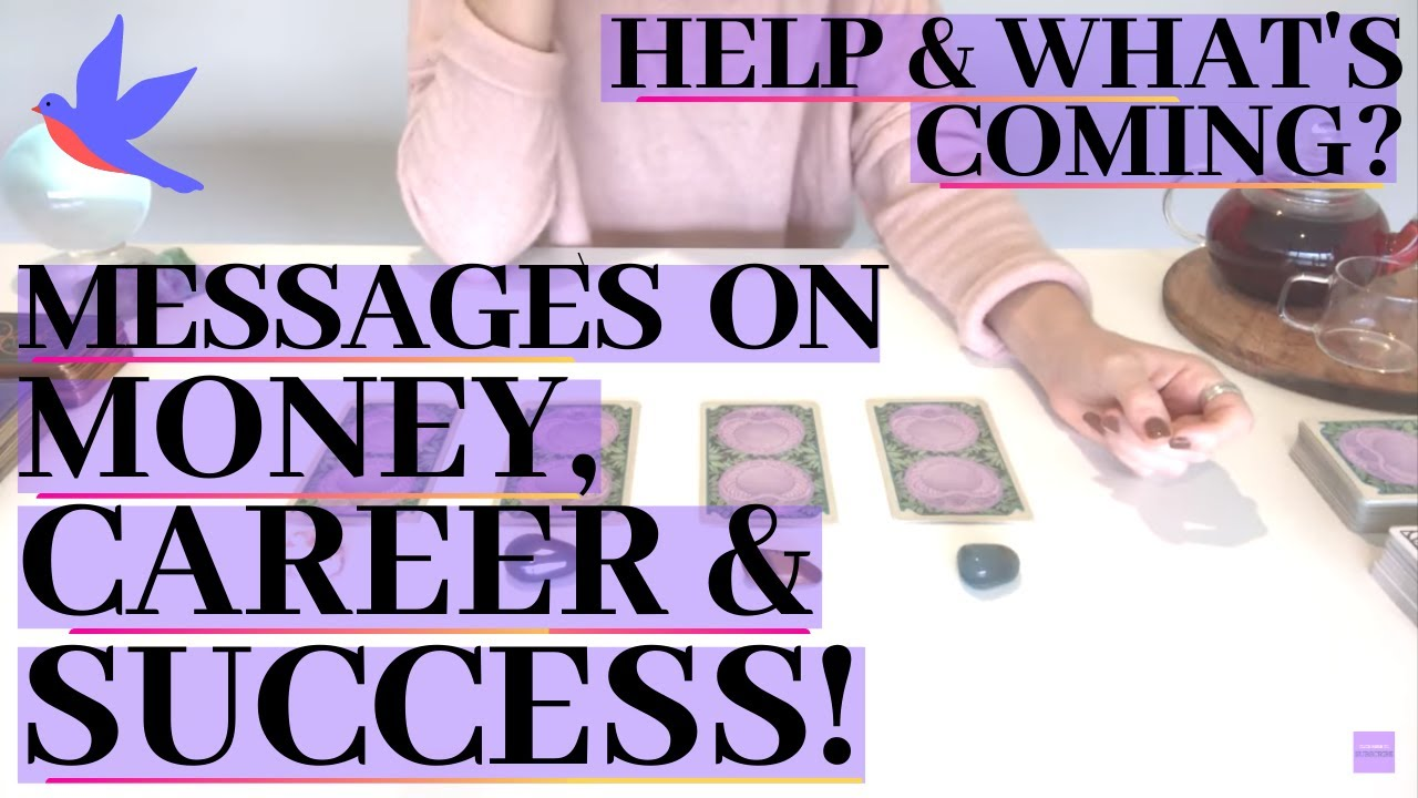 MESSAGES ABOUT MONEY, CAREER & SUCCESS *Help/Guidance* (Pick A Card) Psychic Tarot Reading