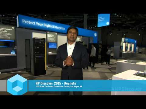 General Session - Day 1 - Winning in the New Style of Business - HP Discover 2015 Las Vegas