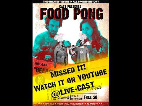 Cast/ Audiovisual Media präsentiert: Food Pong 2017