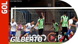 Gol de Gilberto - Bahia 1x0 América-MG