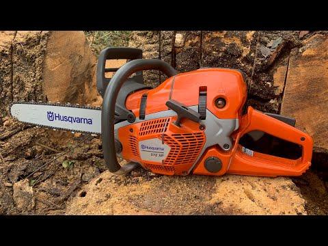 BRAND NEW Husqvarna 572XP full REVIEW! #husqvarna #chainsaw