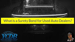 Car Dealership | What is a Surety Bond for Used Auto Dealers?