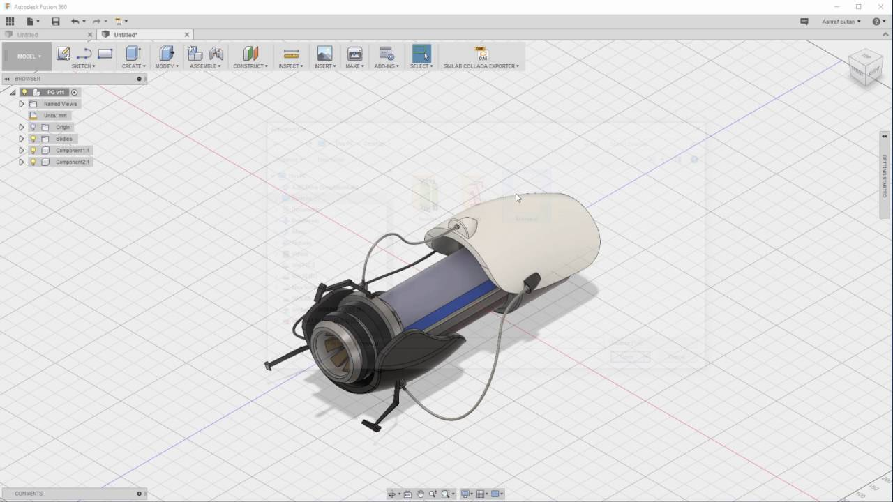 Simlab 3D Plugins - Collada exporter for Fusion 360