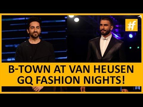 Ranveer Singh And Ayushmaan Khurana At Van Heusen GQ Fashion Nights