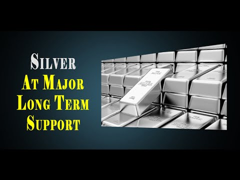 SILVER AT MAJOR LONG TERM SUPPORT - - I SEE ALOT MORE UP SIDE THIS YEAR