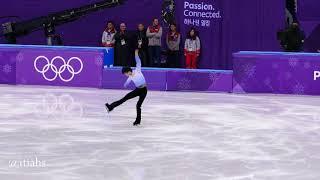 Yuzuru Hanyu PyeongChang SP + Kiss & Cry 2018-02-16