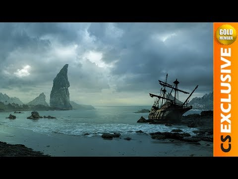 Bay of oblivion - Speed art (#Photoshop) | CreativeStation Exclusive GM