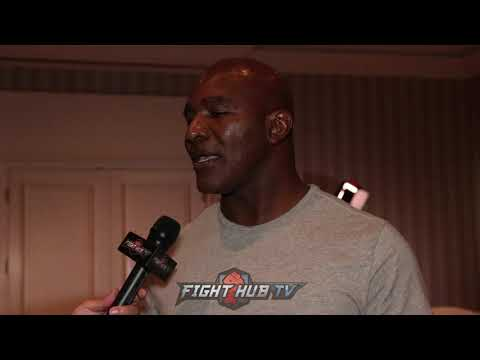 """EVANDER HOLYFIELD ON WILDER VS FURY """"FURY ONE OF THOSE GUYS, DONT KNOW WHAT TYPE OF FIGHT HE FIGHTS"""""""