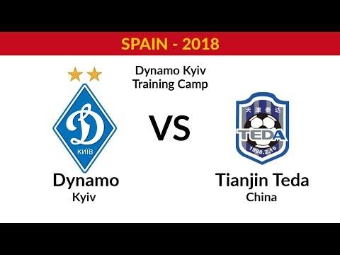 DYNAMO KYIV - TIANJIN TEDA FC (CHINA) - FULL MATCH