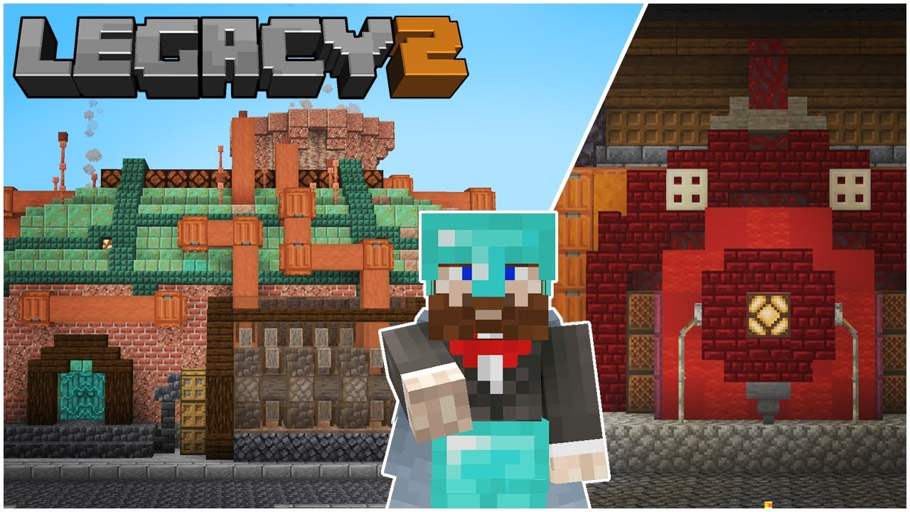 Containment Unit and Storage! - Legacy SMP ( Season 2 Episode 3 )