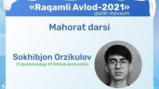 O'zbekistondagi #1 GitHub Dasturchi | Online Digital Camp \