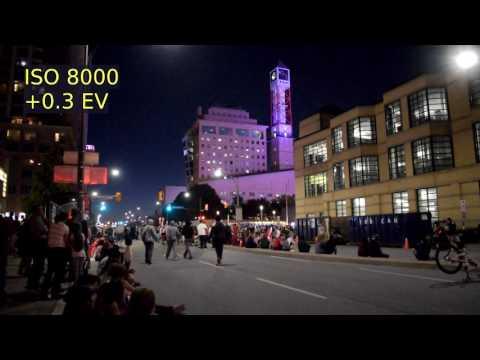 Nikon D5300 - Night Video Test #1