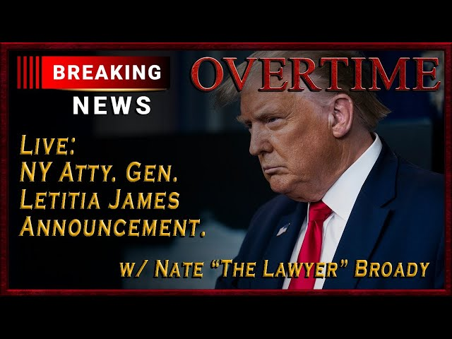 Overtime: NY Atty. Gen. Announcement