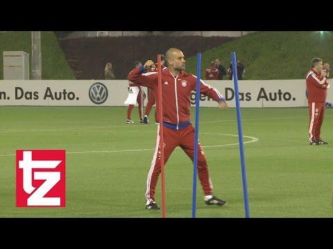 Pep Guardiolas Stimmungsschwankungen im Bayern-Training