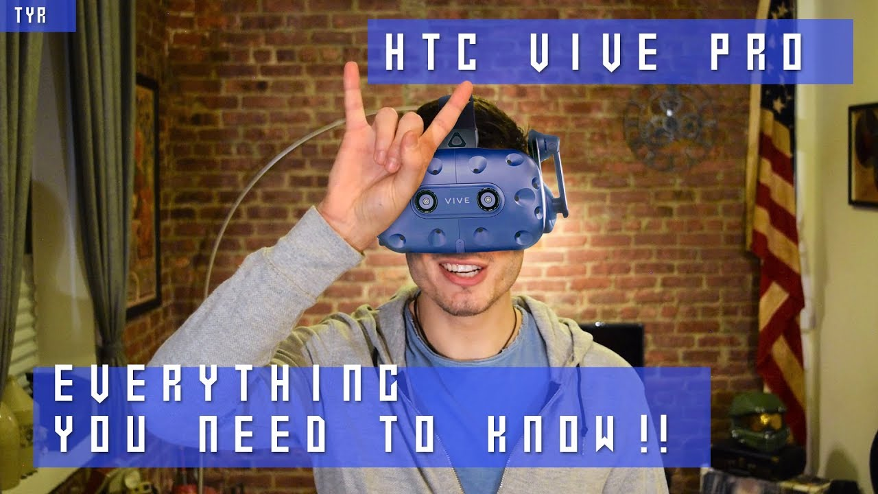 HTC VIVE PRO - EVERYTHING you NEED to KNOW !! - Insane Price