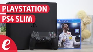 Playstation PS4 Slim 1TB con FIFA 18 (unboxing)